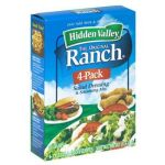 Hidden Valley Ranch Dressing & Dip Mix - 4 pack